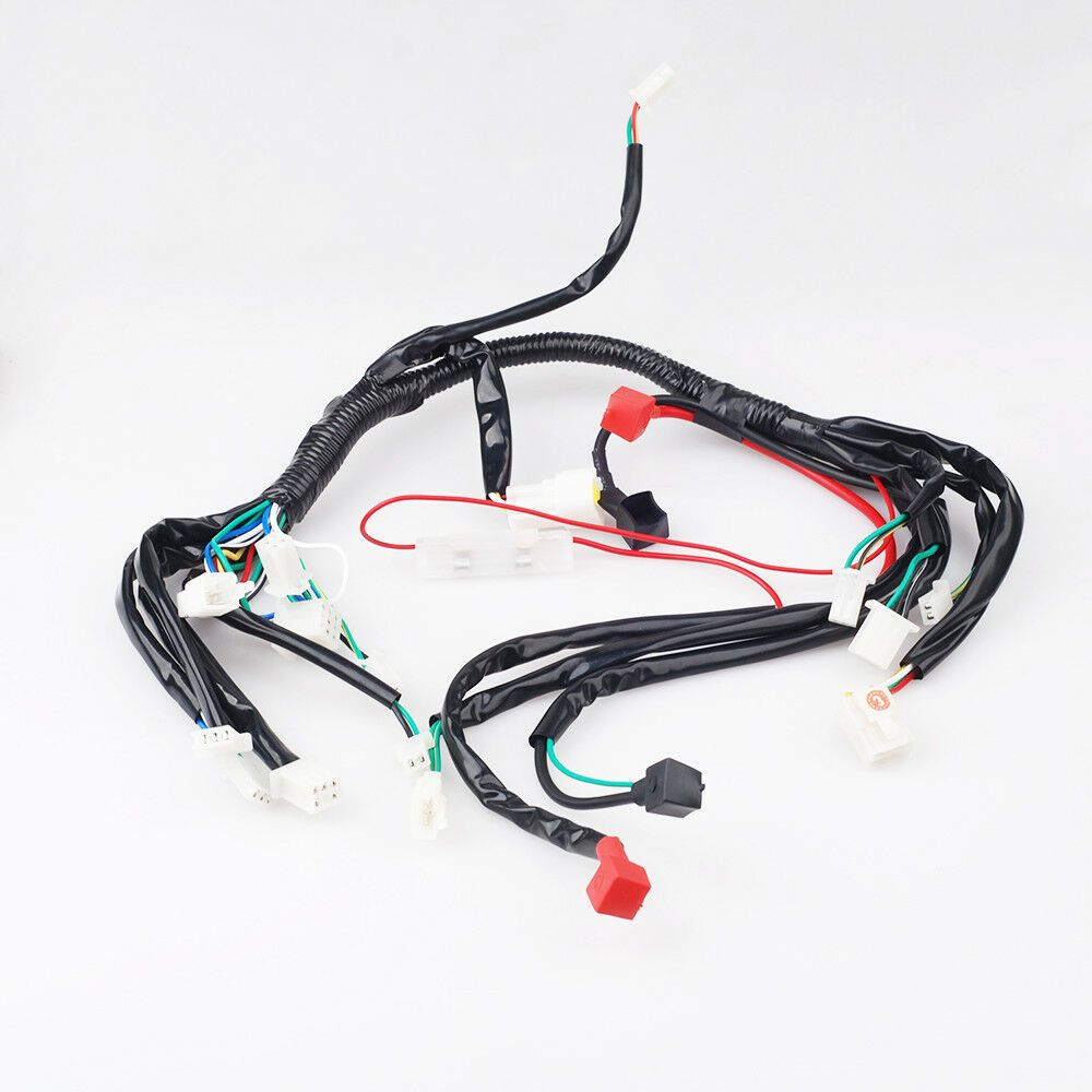 Chinese Atv Wiring Harness Electrics Atv Quad 50cc 70cc 110cc 125cc