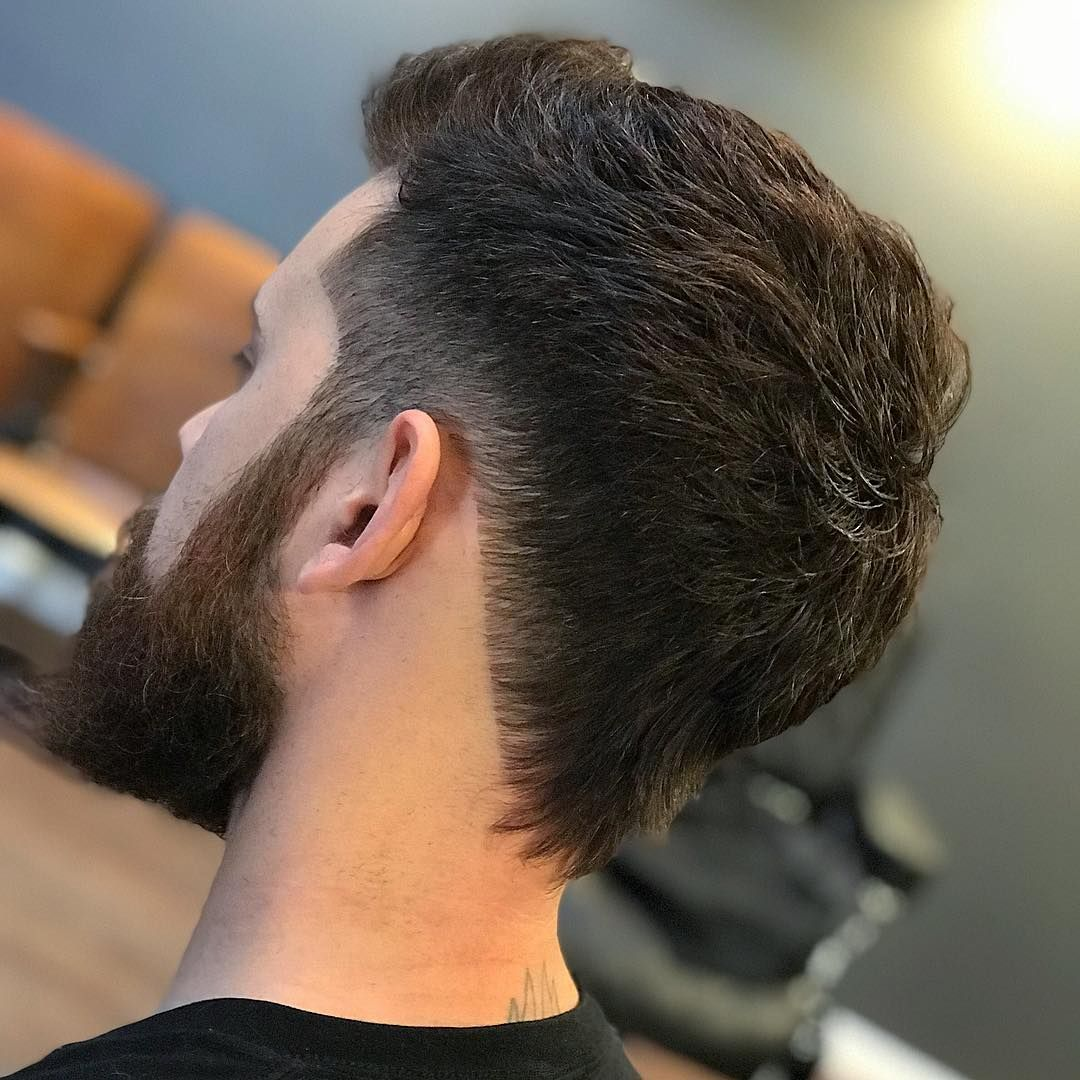 Pin On Nape Shapes Cool Neckline Hair Designs For Men