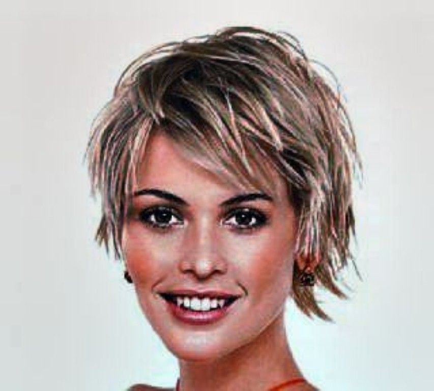 short shaggy hairstyles for women over 60 | Shaggy short ...