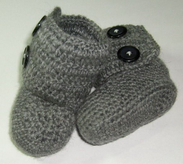 Free Crochet Baby Patterns How To Crochet Booties Crochet For