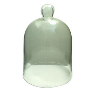 Extra-Large-40x30cm-Vintage-Style-Bell-Shaped-Glass-Cloche-Food-Display-MQ199