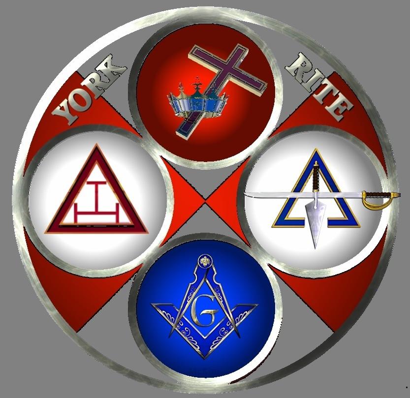 York Rite Masonic Symbols Masonic Art Knights Templar