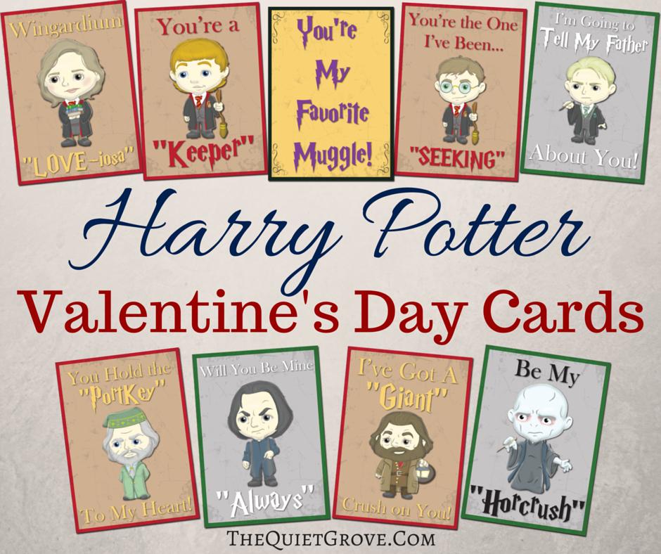Free Printable Harry Potter Valentine Cards Harry Potter Valentines Cards Harry Potter Valentines Valentines Cards