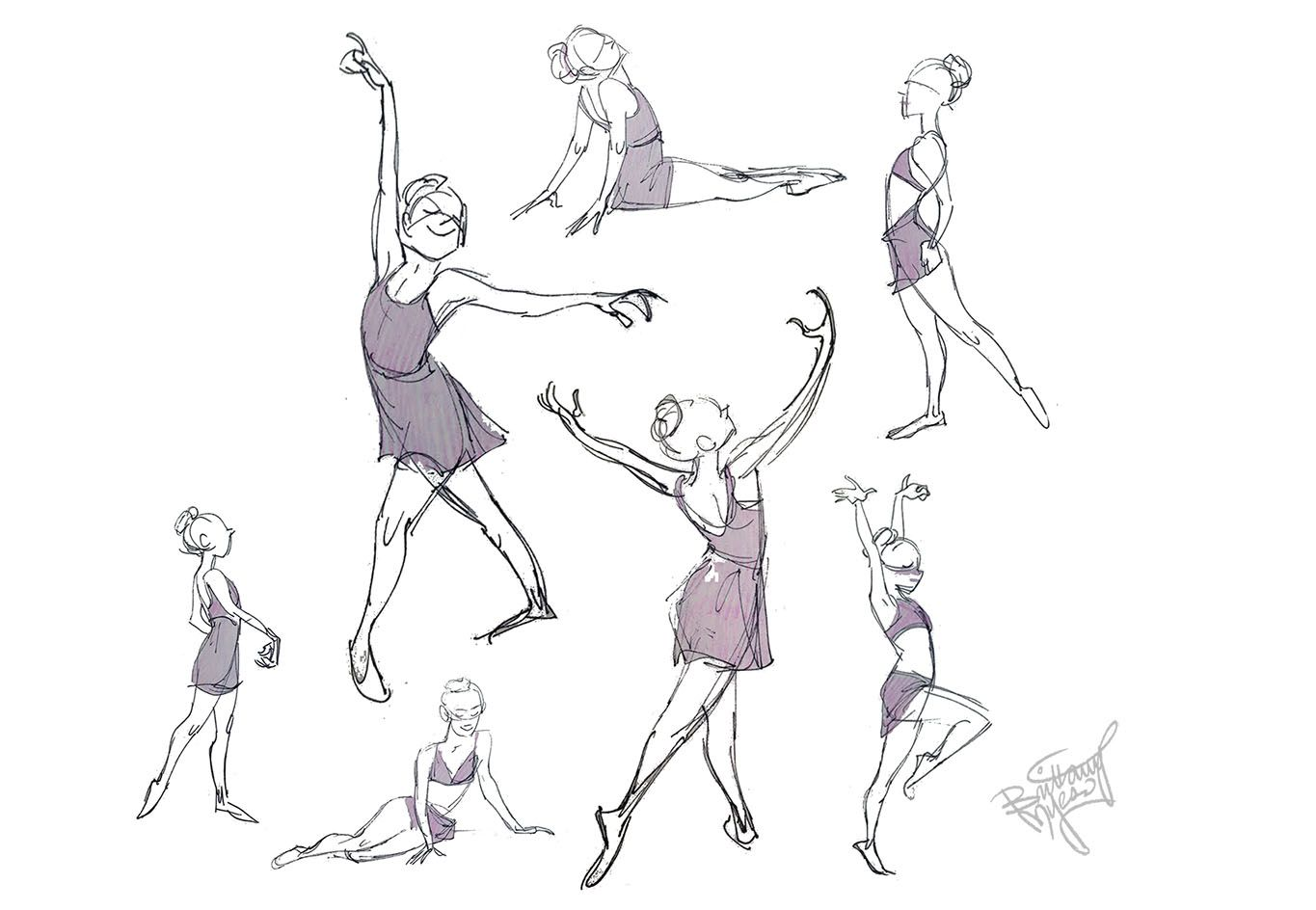 Brittany myers art udance momsu drawings gestures pinterest