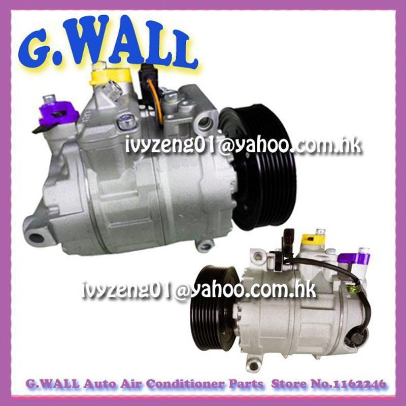 7seu17c Ac Compressor For Vw Phaeton 4 2l 04 06 For Car Audi A8 4 2l 04 06 4e0260805f Air Conditioning Installation Ac Compressor Audi A8