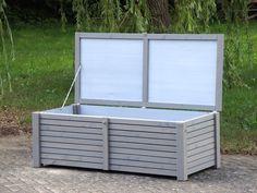 Auflagenbox Kissenbox Aus Douglasie Regendicht Diffusionsoffen Aufbewahrung Garten Auflagenbox Kissenbox