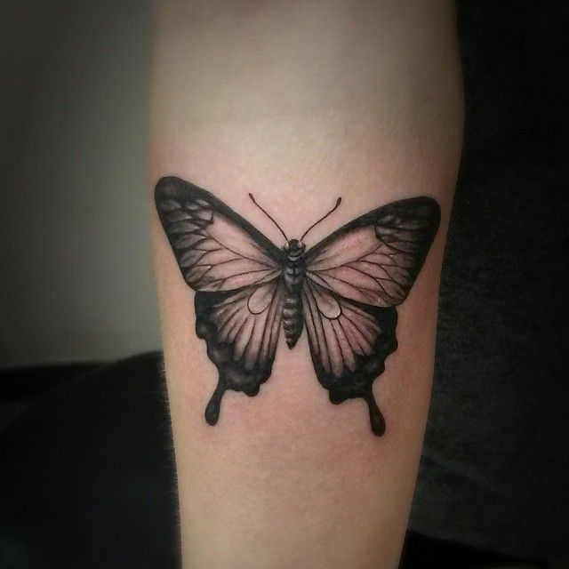 Small Butterfly Tattoos For Men