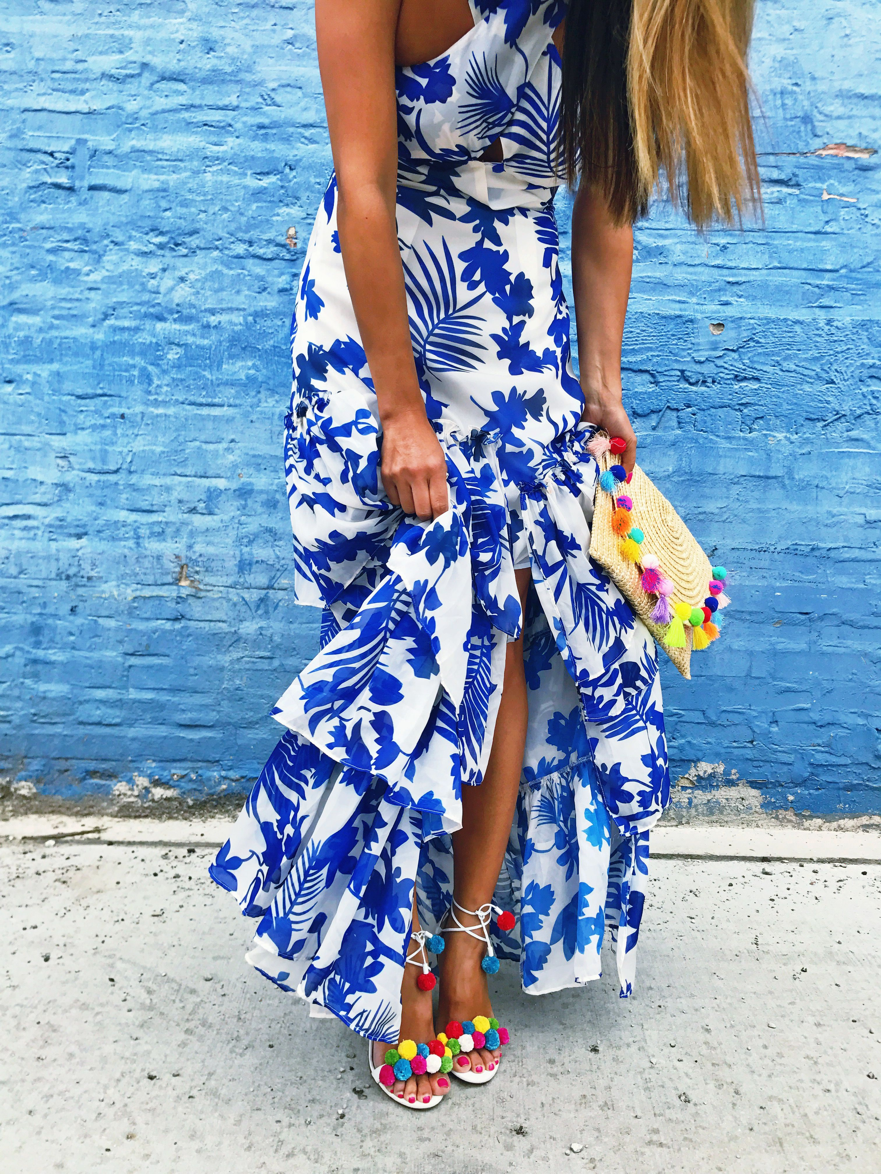 blue dress, dresses, what to wear, how to style your blue dress ...