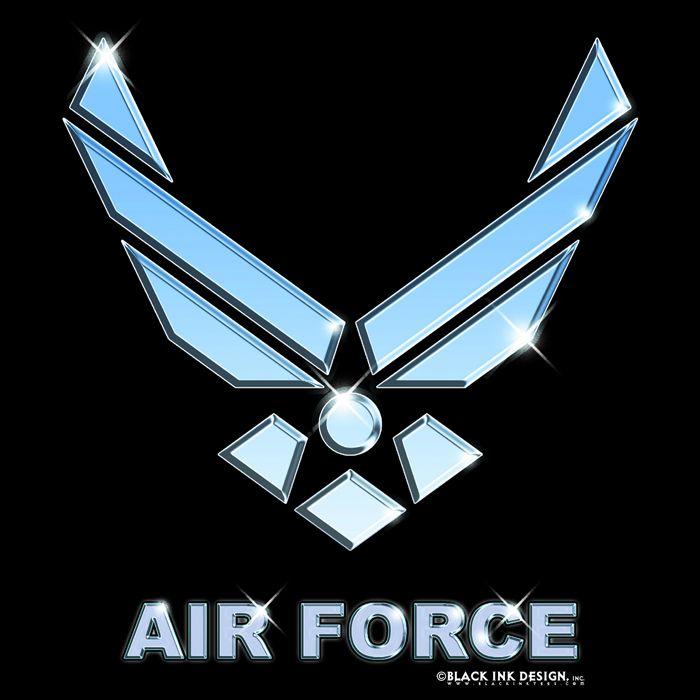Air Force Logos Black Us Air Force Emblem Logo T Shirt Us Air