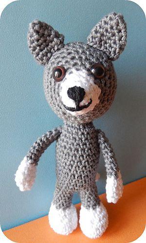 Wolf Pattern By K Godinez Crochet Wolves Wolf Pinterest Wolf
