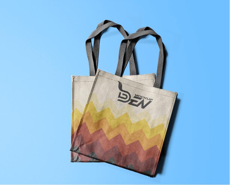 Download Colorful Tote Bag Mockup Free Download Colorful Tote Bags Bag Mockup Tote Bag