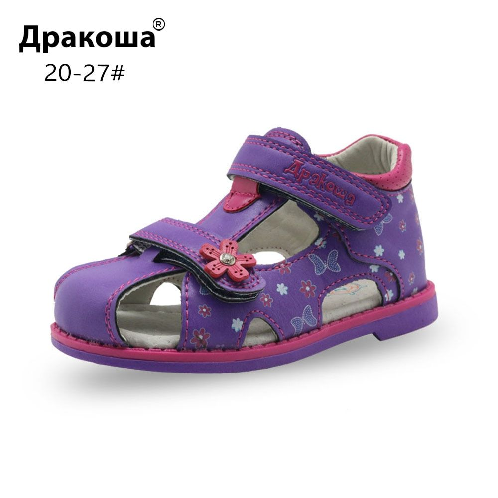 668402c99 Apakowa PU Leather Girls Shoes kids Summer Baby Girls Sandals Shoes  Skidproof Toddlers Infant Children Kids Shoes Arch Support Review