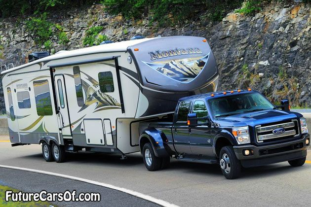 2015 Ford F-Series Super Duty towing