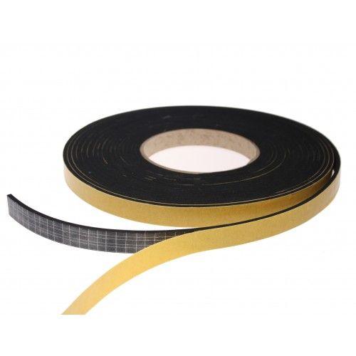 EPDM Black Single Sided Foam - This matt finish 3mm thick foam tape