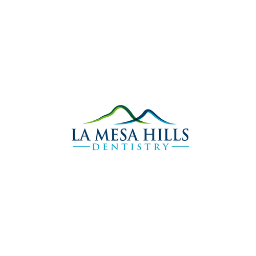 La Mesa Hills Dentistry Southern California Dental Office Needs A Hip New Logo Business Cards Photography Dentistry Unique Business Cards