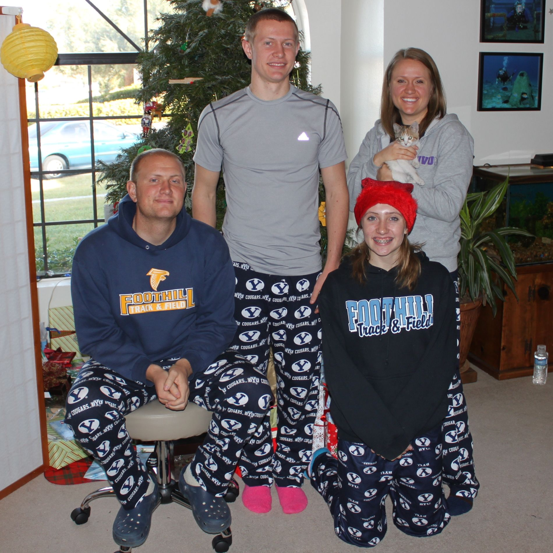 What's your favorite Holiday Tradition? Dr. Oehler's kids love getting new PJs!