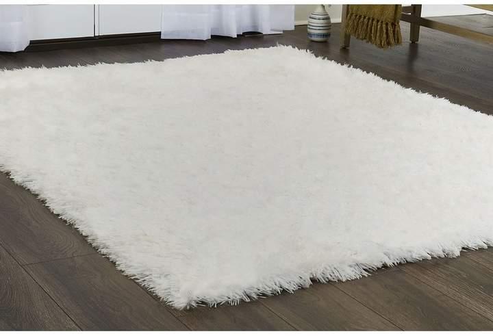 Elle home paramount white area rug in 2020 white area
