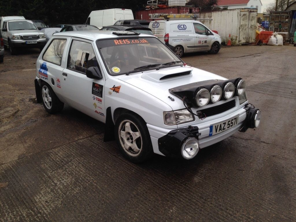 Vauxhall Nova stage rally car SEE EBAY LISTING >> #vauxhallnova ...