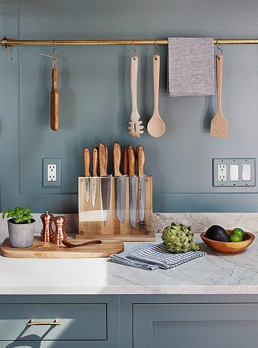 5 Ways Bold Textures Can Transform Your Rooms. Kitchen RailsCopper ...