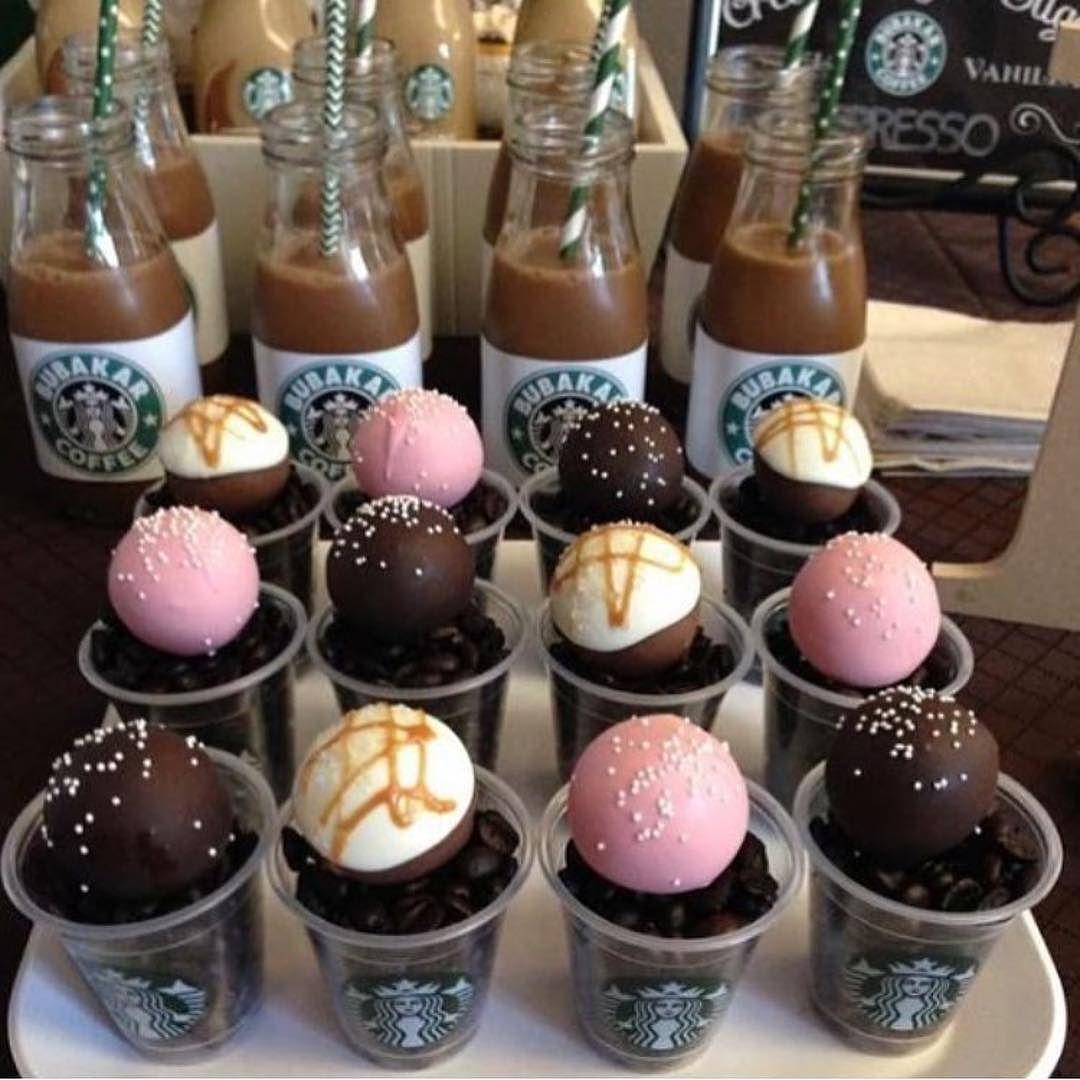 Starbucks Cake Pops Drinks Birthday Party 14th