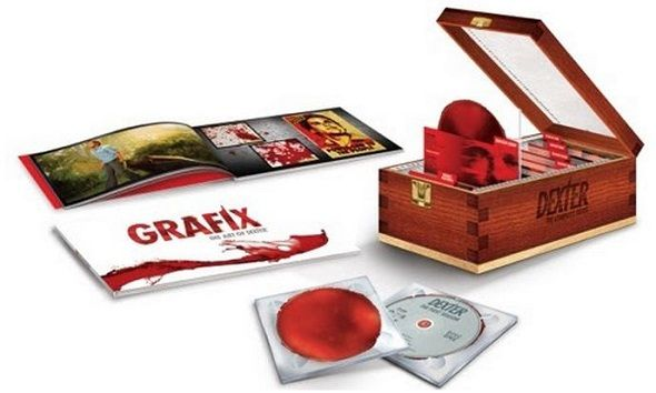 La edición coleccionista de 'Dexter' estará disponible a partir del 19 de septiembre