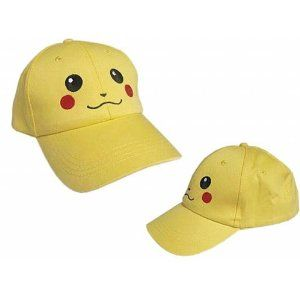 Pokemon: Yellow Baseball Cap Pikachu Hat- I recently bought one of these and it is the cutest thing ever!