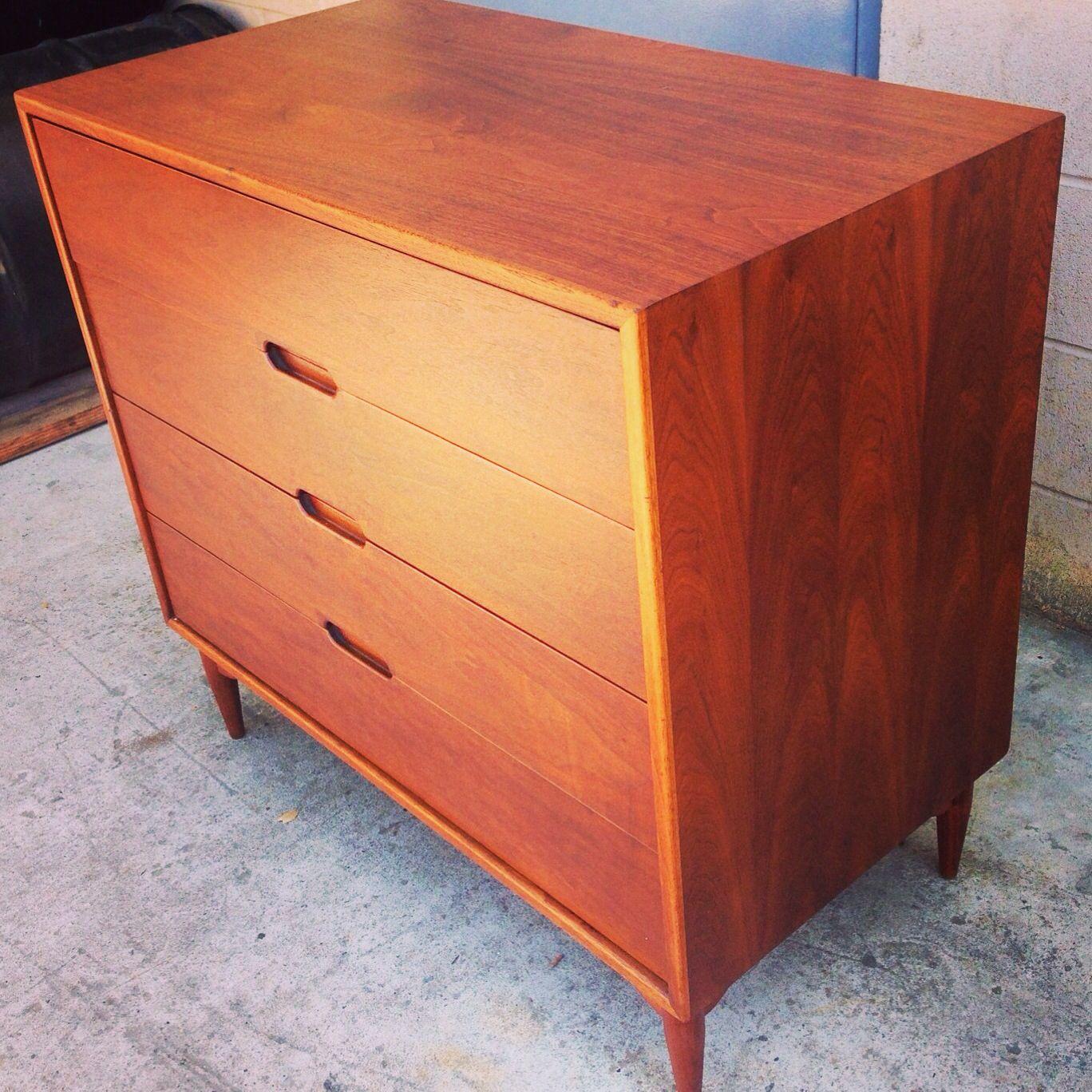 Mid century Brown Saltman dresser   Mid century modern ...