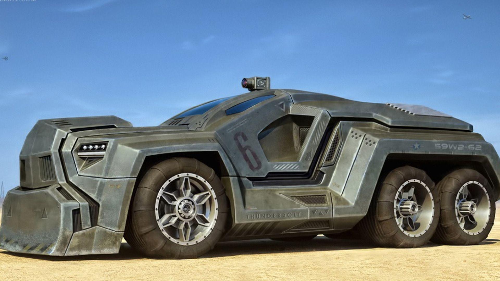 Fond Ecran Hd Science Fiction Wallpaper 2 748 All Images Vehicles Futuristic Cars Zombie Vehicle