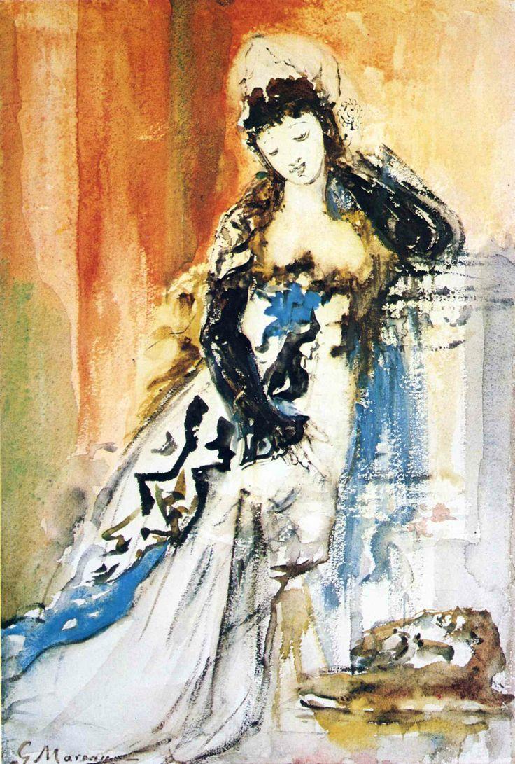 Gustave Moreau: Salomé, 1875.