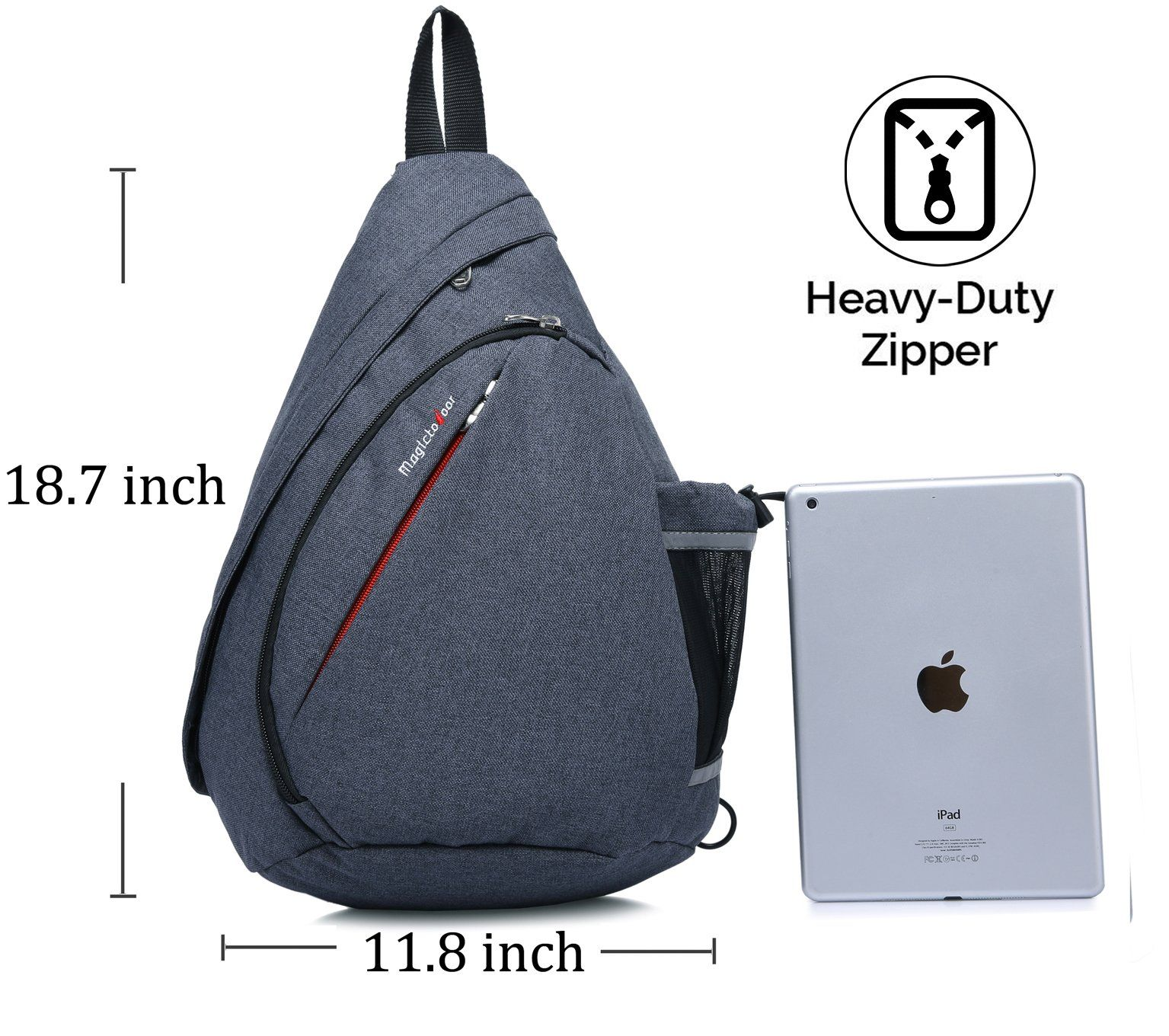 bcc0dd40d Magictodoor Sling Bag Travel Backpack Wear Over Shoulder or Crossbody Chest  Bag Blue >>> Want additional info? Click on the image.
