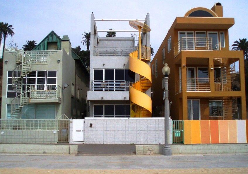 Celebrity Homes Santa Monica Ca Beachfront Photo Picture