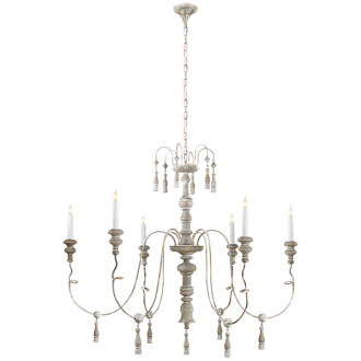 for living room with high ceilings MICHELE MEDIUM CHANDELIER