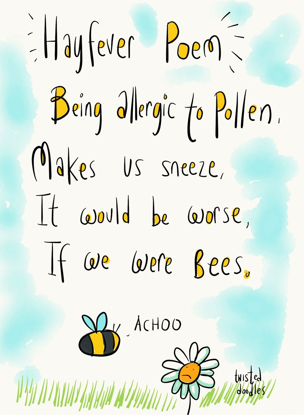 Hay Fever Poem Funny Quotes Poems Hay Fever