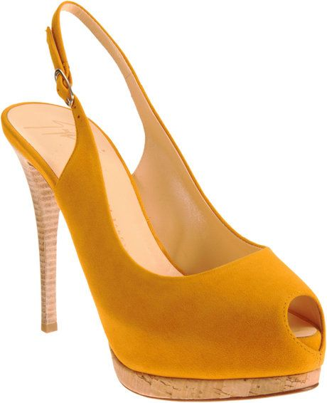 Slingback Platform Sandal - Lyst