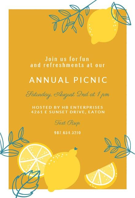 Free Brunch \ Lunch Party Invitation Templates Greetings Island - invitation templates for farewell party