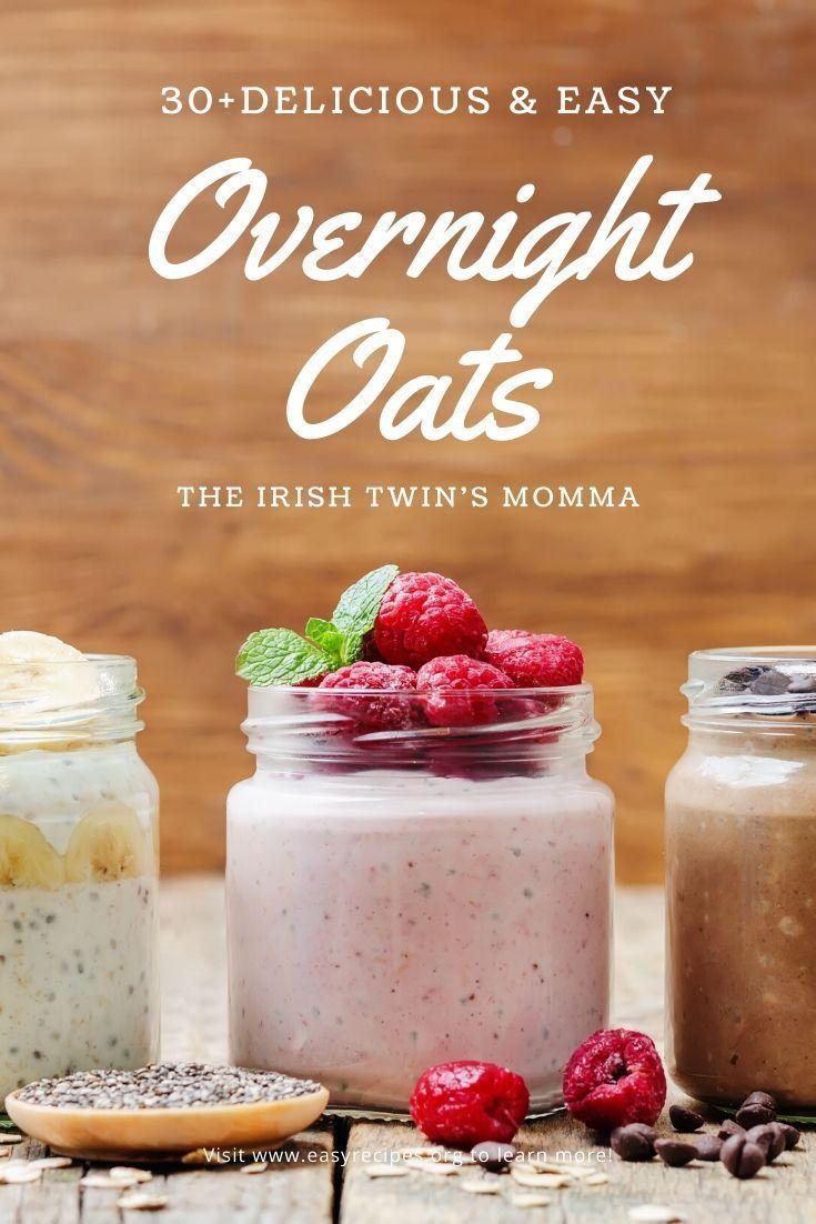 Overnight Oats | Gluten free recipes for breakfast, Food ...