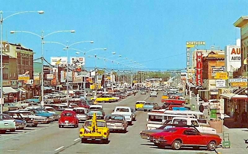 traffic scene fort collins colorado 1969 colorado pinterest