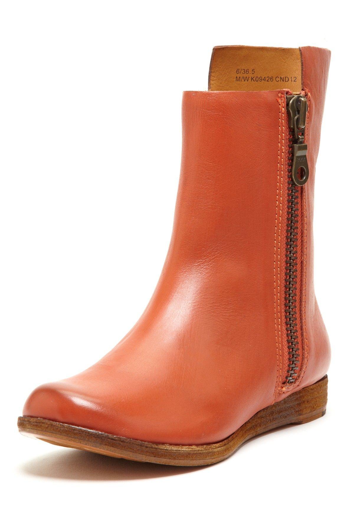 Kork-Ease Liza Short Zipper Boot