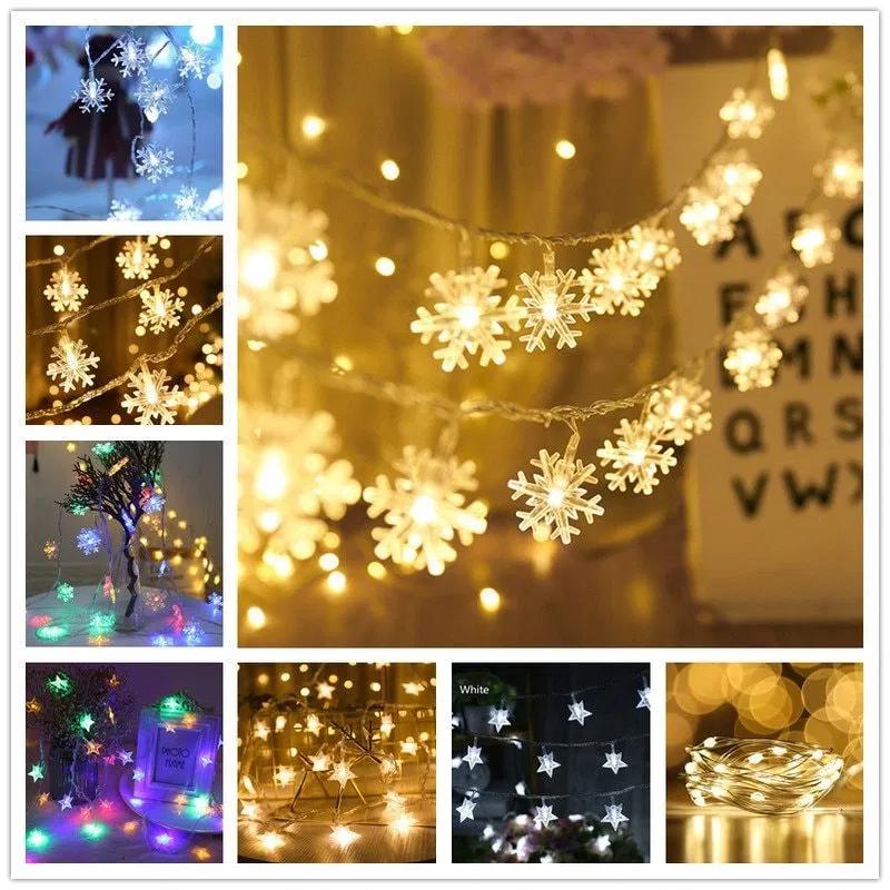 Snowflakes Light Led Christmas Decor With Images Decorating With Christmas Lights Led Christmas Decor Led Christmas Tree