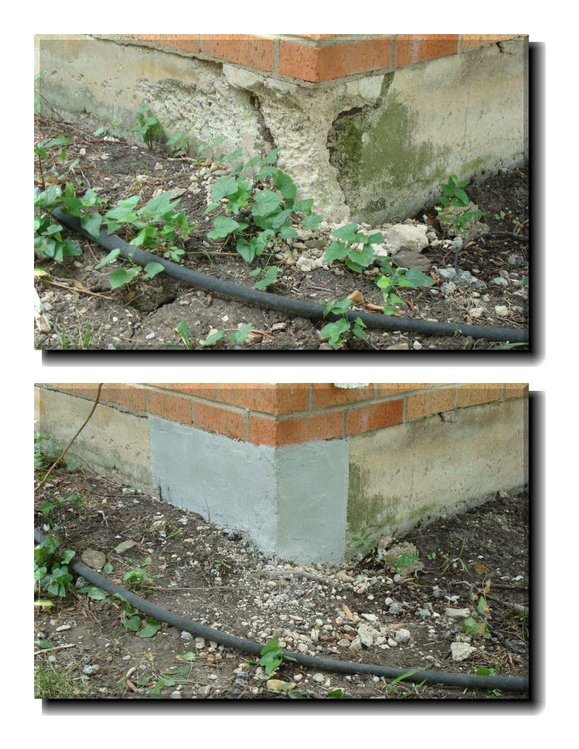 Concrete repair material versatile coatings llc