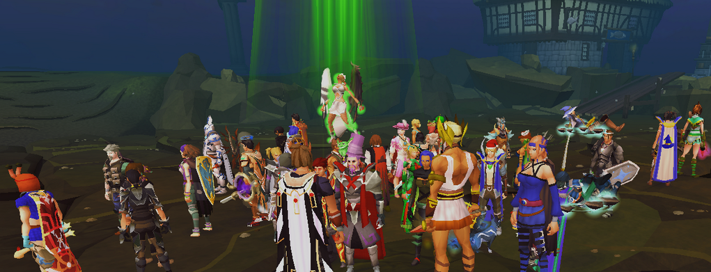 Mod Slayer Stamping her heart out! #RuneScape
