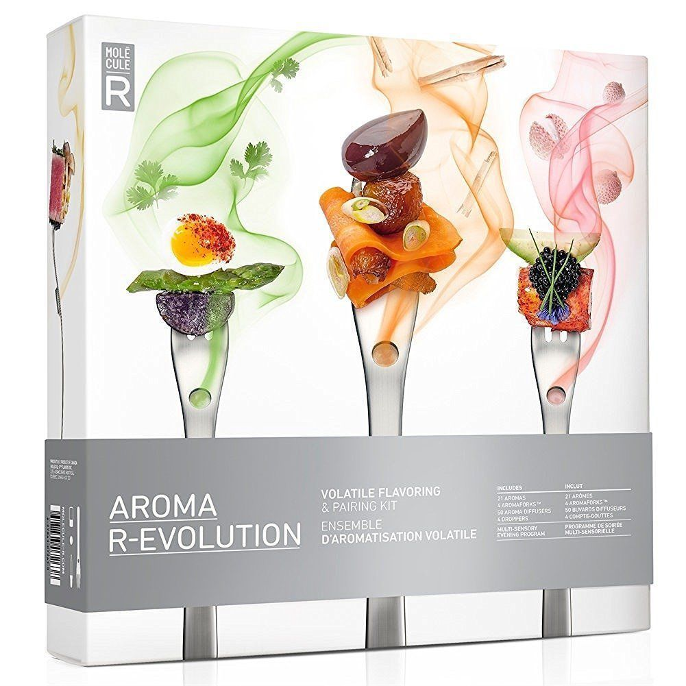 aroma #molecular #r-evolution folk set #cuisine gastronomy model