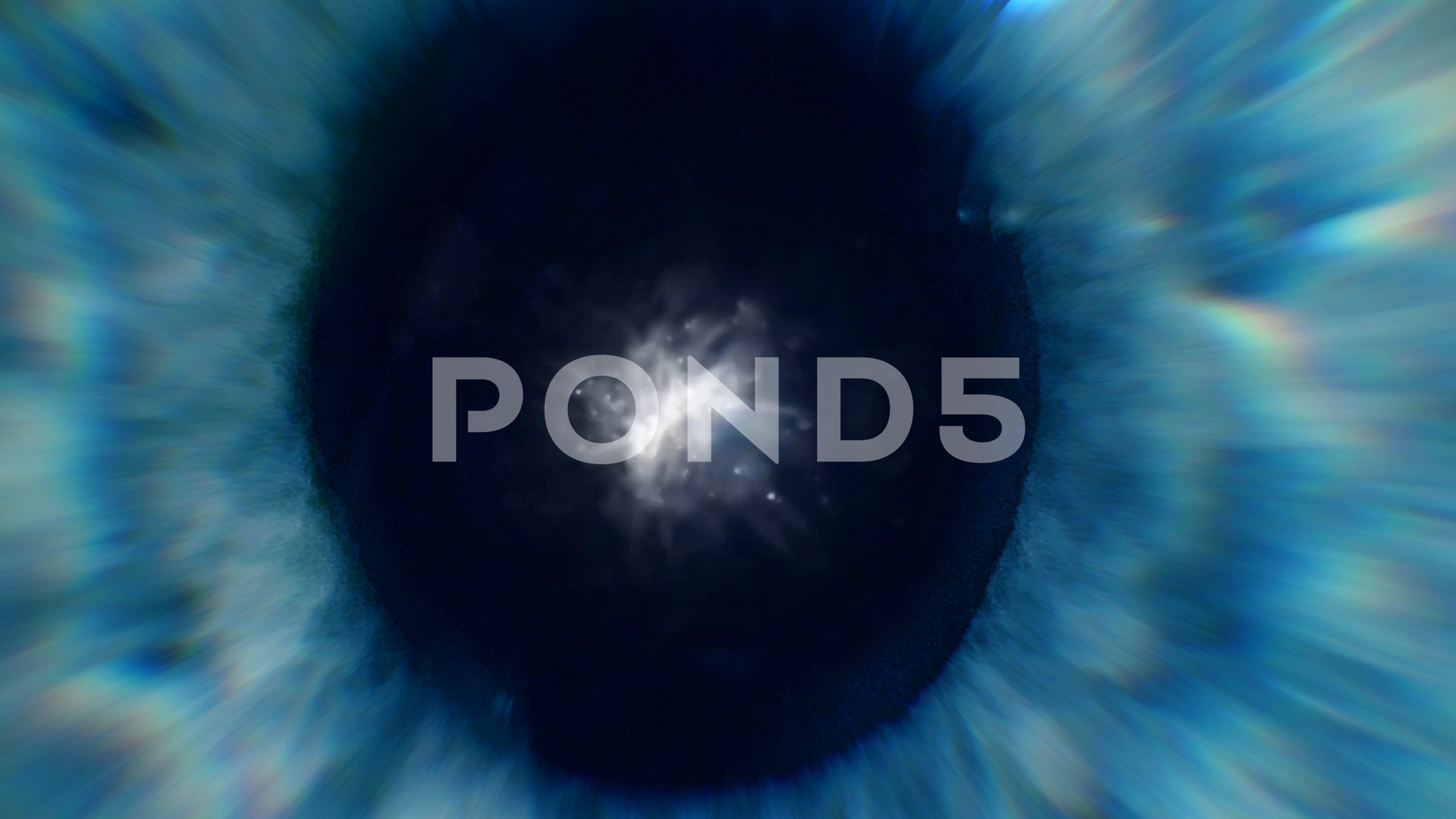 Blue Eye Zoom In With Explosion Stock Footage Ad Zoom Eye Blue Footage