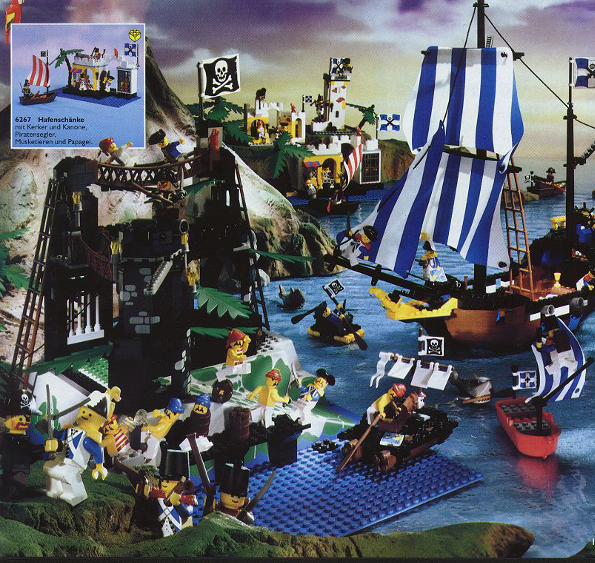 Lego Building Set  Pirates Of The Caribbean