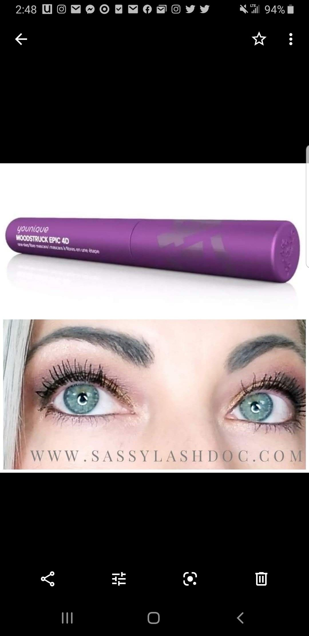 Pin by Leslie Powell on YOUNiQUE LASHES in 2020 Younique