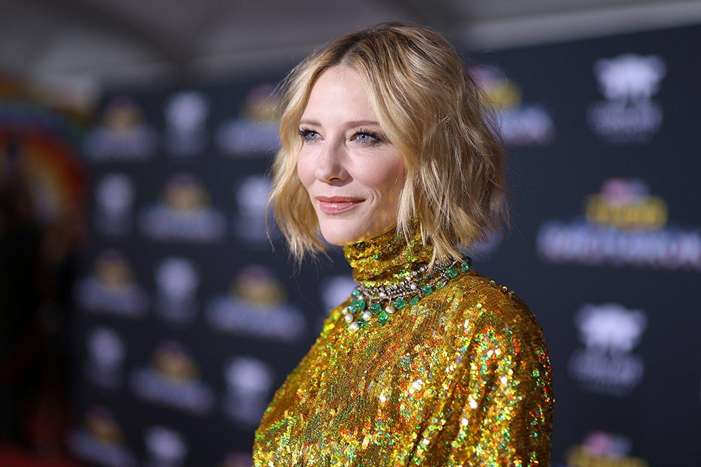 Cate Blanchett at an event for Thor Ragnarok (2017) в 2019 г.