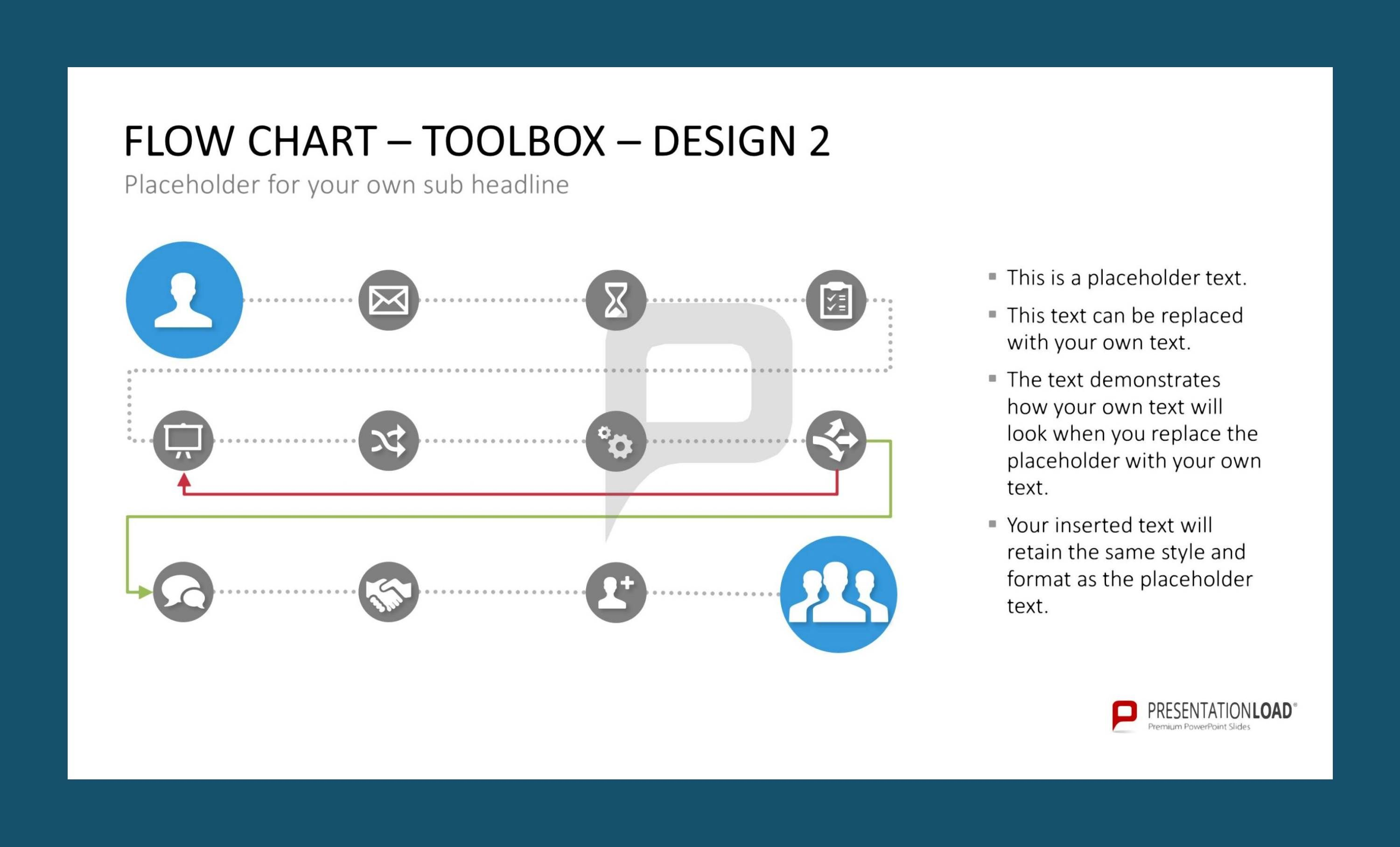 Our flow chart toolbox for powerpoint gives you the opportunity to our flow chart toolbox for powerpoint gives you the opportunity to visualize any business process you nvjuhfo Image collections
