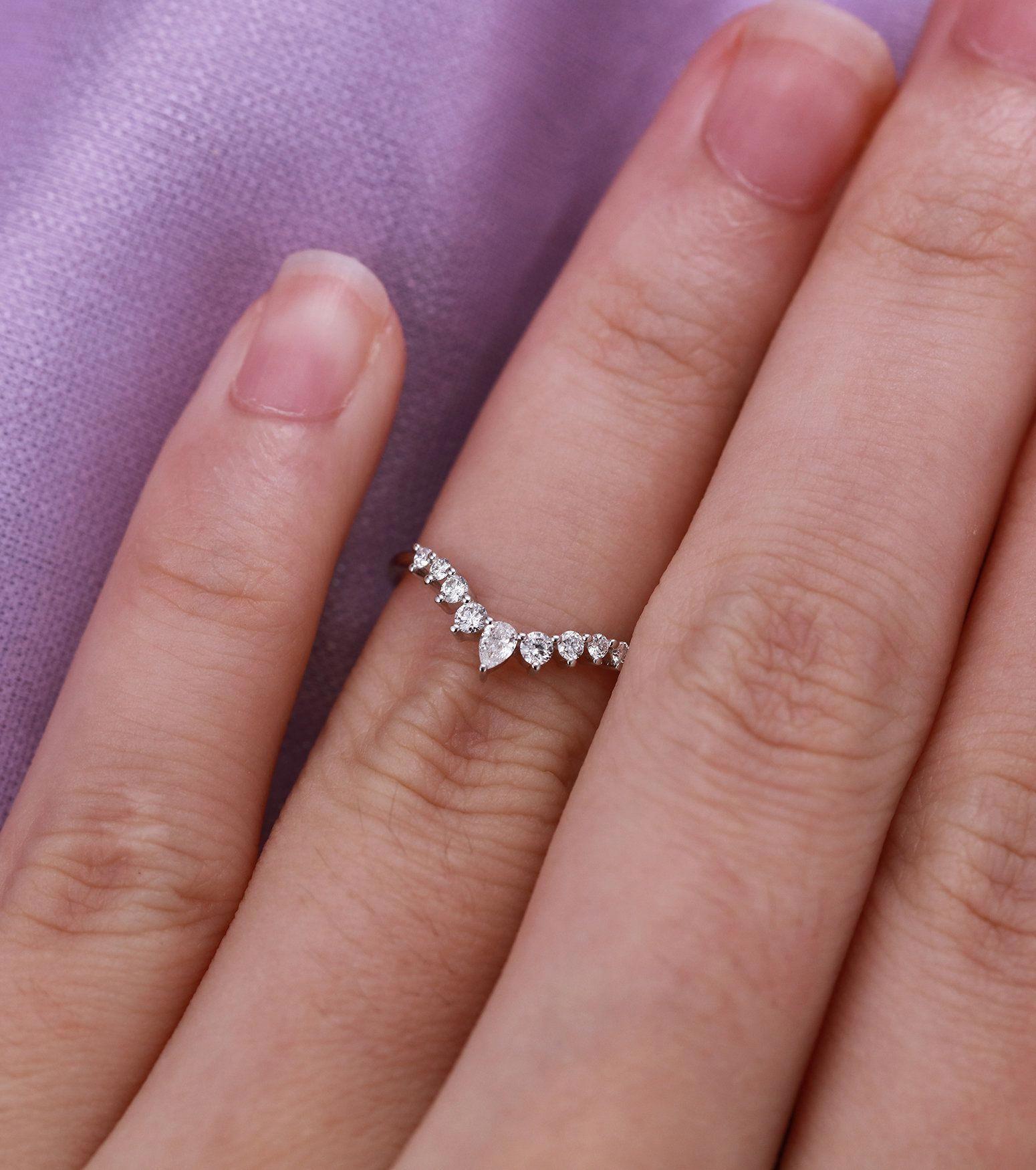 14K Solid Rose Gold Wedding Band / 1.2 MM Rose Gold Ring