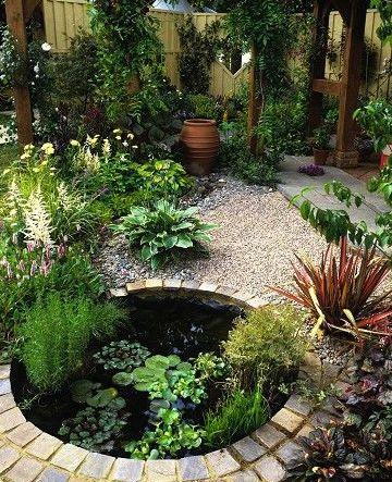 Garden Pond Design Layout