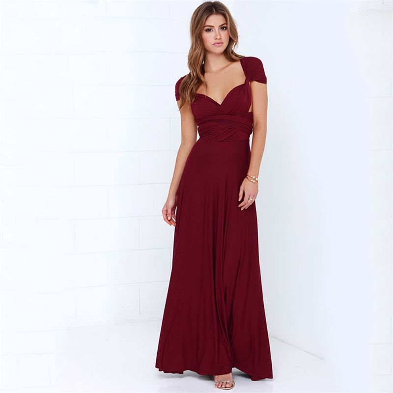 038400dfeb0 Dress Women 2018 Long Summer Convertible Bohemian Dresses Casual Bandage  Evening Prom Club Party Infinity Multiway Maxi Dresses free shipping  worldwide